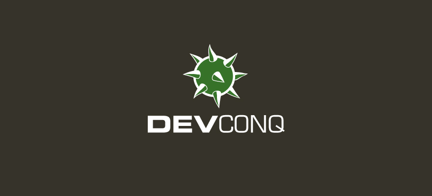 I'm looking for a logo. Should be based on a conker (horse chestnut). It's a web development company called DevConq (like develop and conquer). I'm looking for something pretty minimal that will look good in just one colour. Thanks for doing this!