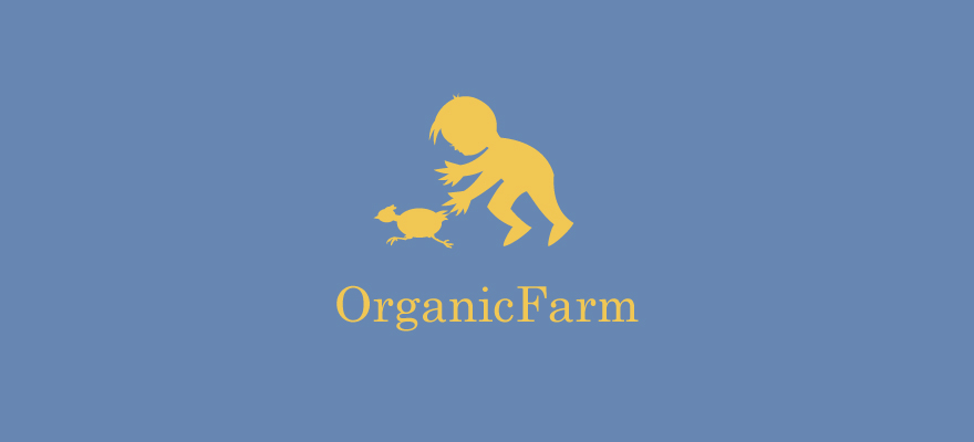 Logo for: Organic Farm. Transparent background please. Thanks!