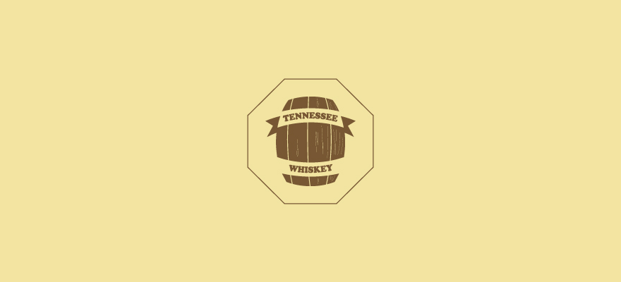 Logo for: Tennessee Whiskey. Transparent background please (so I can use on a variety of background colours).
