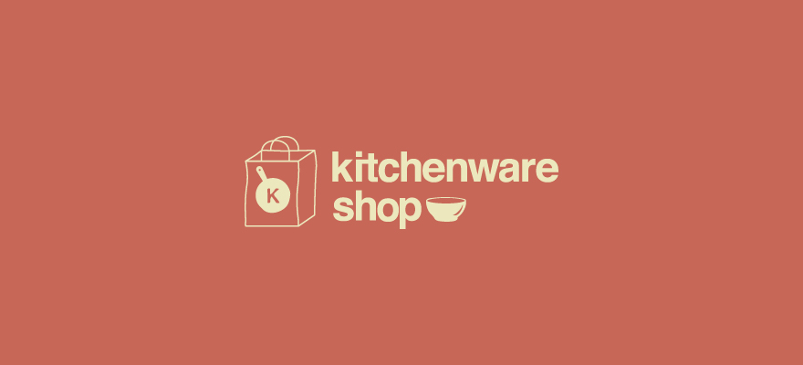 Logo for: Kitchenware Shop. Transparent background please. Thanks!